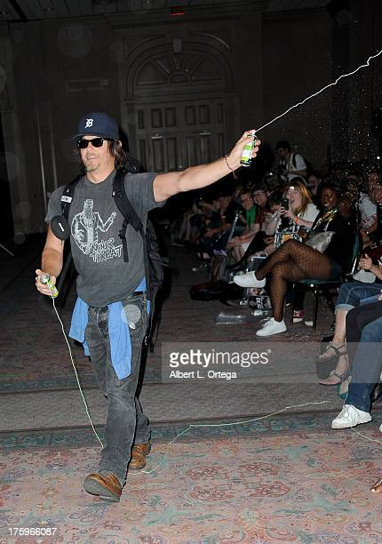 Actor Norman Reedus attends Day 2 of Wizard World Chicago Comic Con 2013 held at the Donald E Stephens Convention Center on August 10 2013 in...