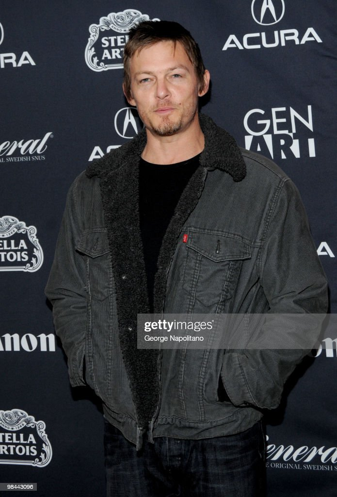 Actor Norman Reedus attends the 15th annual Gen Art Film Festival screening of 'Mercy' at the School of Visual Arts on April 13, 2010 in New York City.