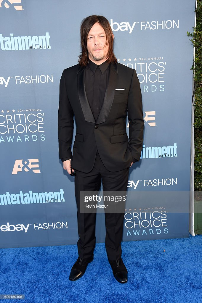 actor-norman-reedus-attends-the-22nd-annual-critics-choice-awards-at-picture-id629180196