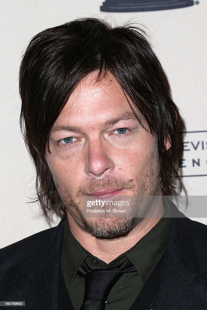 Actor Norman Reedus attends The Academy Of Television Arts & Sciences Presents An Evening With 'The Walking Dead' at the Leonard H. Goldenson Theatre on February 5, 2013 in North Hollywood, California.