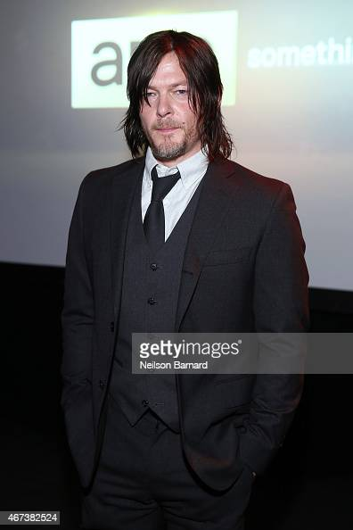 Actor Norman Reedus attends the AMC Ad Sales Event celebrating AMC's 'The Walking Dead' at The Highline Ballroom on March 23 2015 in New York City