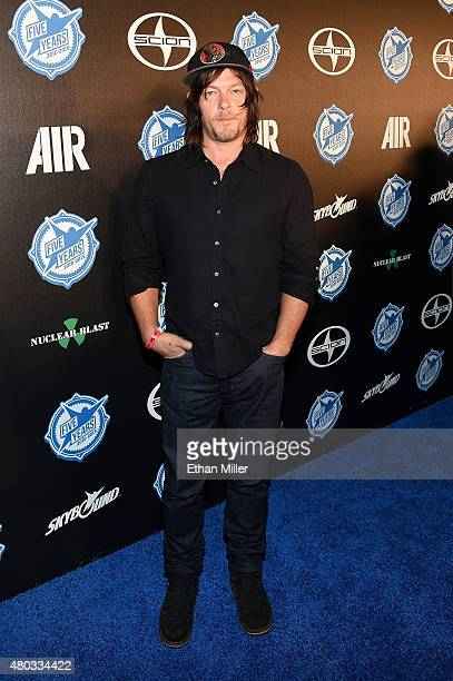 Actor Norman Reedus attends the premiere party for Skybound Entertainment's 'AIR' during ComicCon International 2015 at PETCO Park on July 10 2015 in...