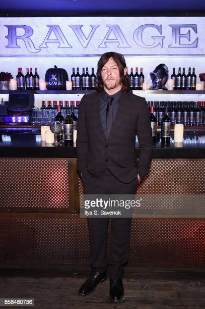 Actor Norman Reedus attends the Ravage Wines Lounge at Comic Con Heroes After Dark on October 6 2017 in New York City