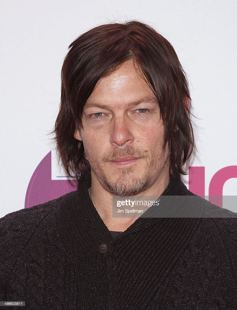 Actor <a gi-track='captionPersonalityLinkClicked' href=/galleries/search?phrase=Norman+Reedus&family=editorial&specificpeople=747258 ng-click='$event.stopPropagation()'>Norman Reedus</a> attends Z100's Jingle Ball 2013 at Madison Square Garden on December 13, 2013 in New York City.