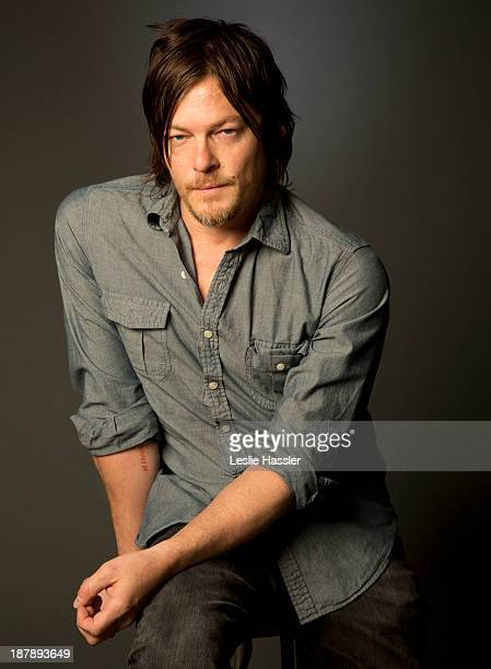 Actor Norman Reedus is photographed for Self Assignment on April 19 2013 in New York City