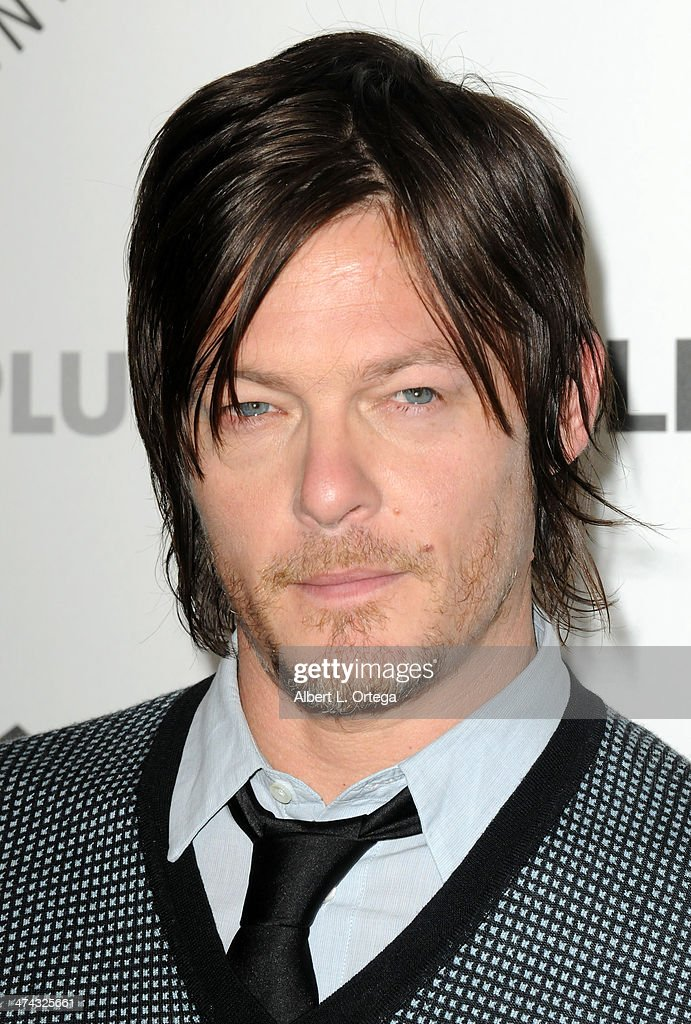 Actor <a gi-track='captionPersonalityLinkClicked' href=/galleries/search?phrase=Norman+Reedus&family=editorial&specificpeople=747258 ng-click='$event.stopPropagation()'>Norman Reedus</a> participates in The Paley Center For Media's PaleyFest 2013 Honoring 'The Walking Dead' held at The Saban Theater on March 1, 2013 in Beverly Hills, California.