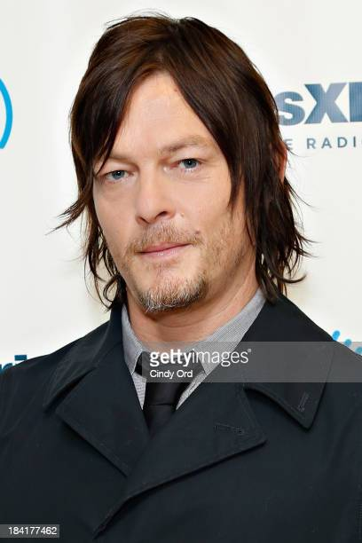 Actor Norman Reedus visits the SiriusXM Studios on October 11 2013 in New York City
