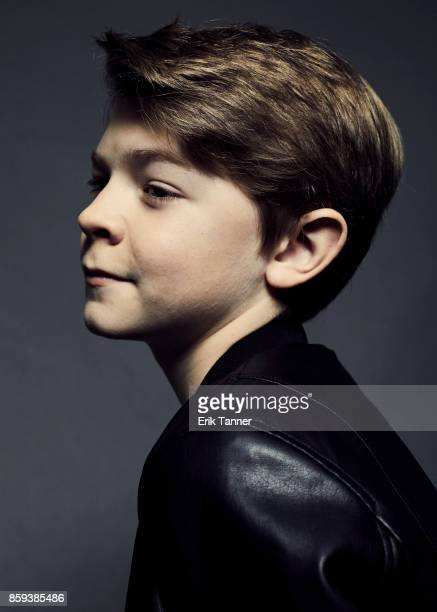 Actor Oakes Fegley from 'Wonderstruck' poses for a portrait at the 55th New York Film Festival on October 7 2017