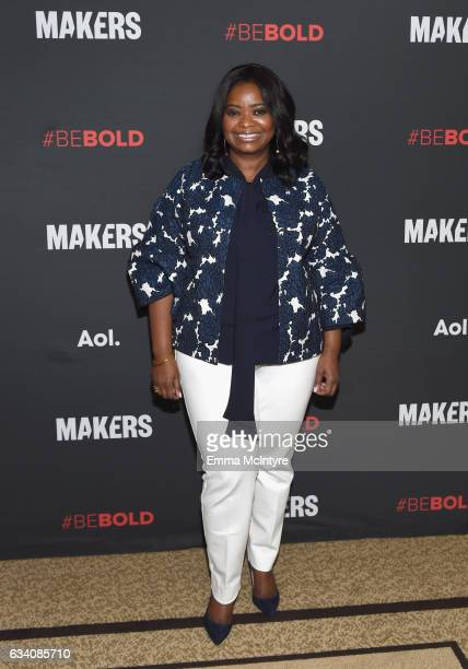 Actor Octavia Spencer attends the 2017 MAKERS Conference Day 1 at Terranea Resort on February 6 2017 in Rancho Palos Verdes California
