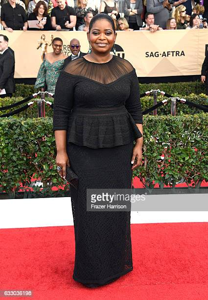 Actor Octavia Spencer attends The 23rd Annual Screen Actors Guild Awards at The Shrine Auditorium on January 29 2017 in Los Angeles California...