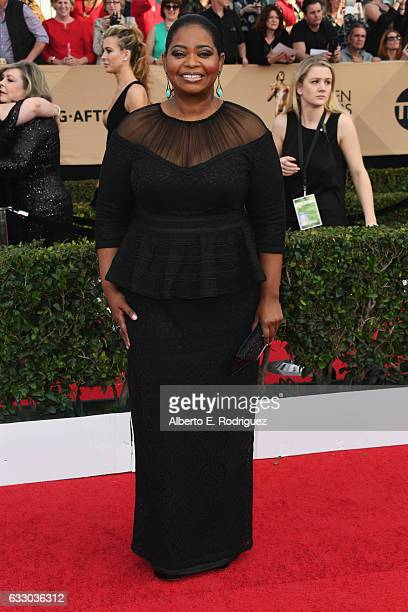 Actor Octavia Spencer attends the 23rd Annual Screen Actors Guild Awards at The Shrine Expo Hall on January 29 2017 in Los Angeles California
