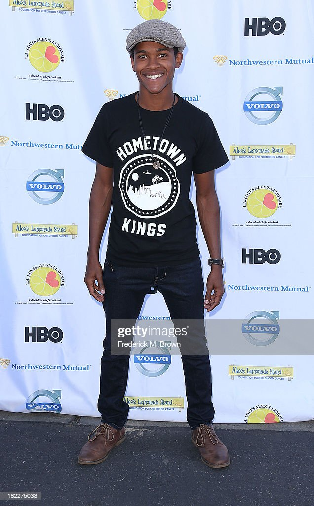 Actor Octvius J. Johnson attends the L.A. Loves Alex's Lemonade Event at the Culver Studios on September 28, 2013 in Culver City, California.
