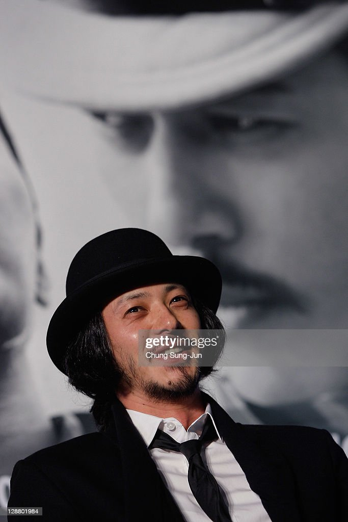 Actor Odagiri Joe attends Open Talk 'My Way' at Haeundae seashore during the 16th Busan International Film Festival (BIFF) on October 9, 2011 in Busan, South Korea. The biggest film festival in Asia showcases 307 films from 70 countries and runs from October 6-14.