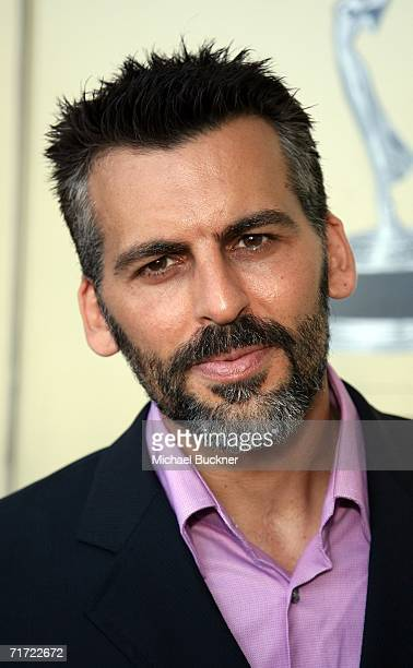 Actor Oded Fehr arrives at the BAFTA/LAAcademy of Television Arts and Sciences Tea Party at the Century Hyatt on August 26 2006 in Century City...