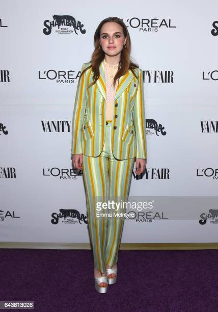 Actor Odessa Young attends Vanity Fair and L'Oreal Paris Toast to Young Hollywood hosted by Dakota Johnson and Krista Smith at Delilah on February 21...
