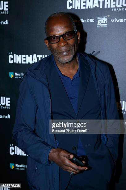Actor of the movie Alex Descas attends the 'Un beau soleil interieur' Paris Premiere at La Cinematheque on September 25 2017 in Paris France