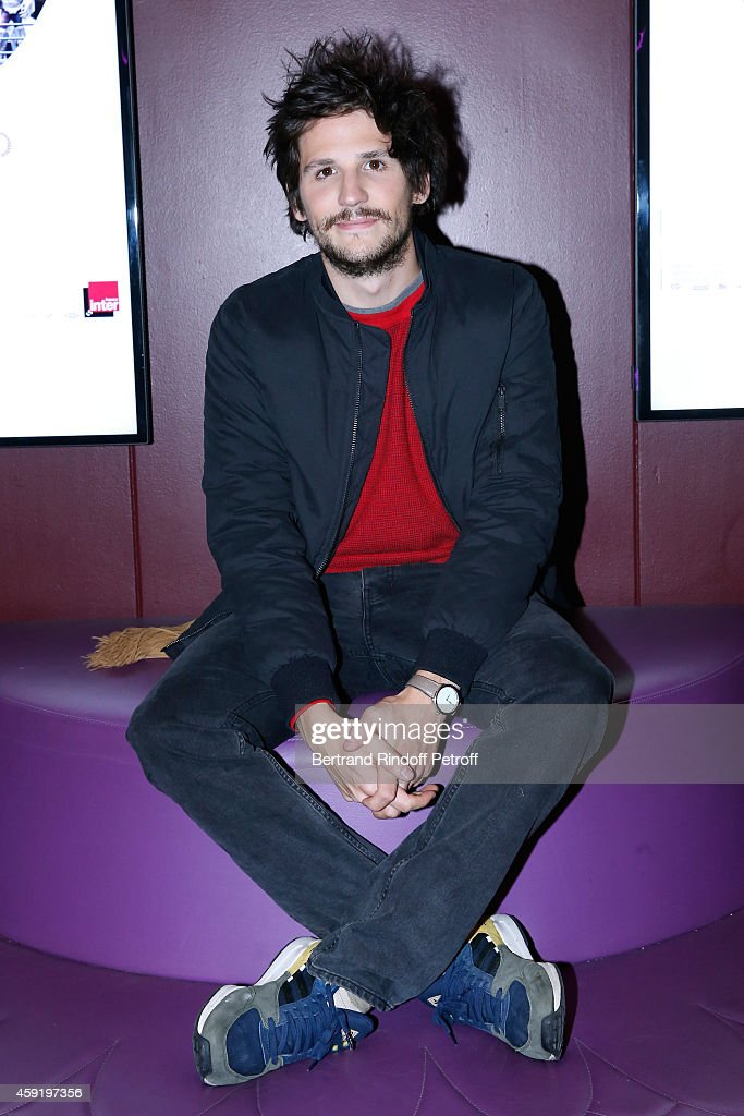 Actor of the movie Felix de Givry attends the 'Eden' Paris Premiere at Cinema Gaumont Marignan on November 18, 2014 in Paris, France.