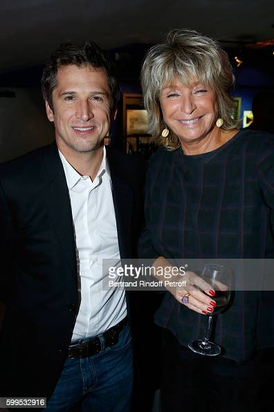 Actor of the movie Guillaume Canet and Director of the movie Daniele Thompson attend the 'Cezanne et Moi' Premiere on September 5 2016 in Paris France
