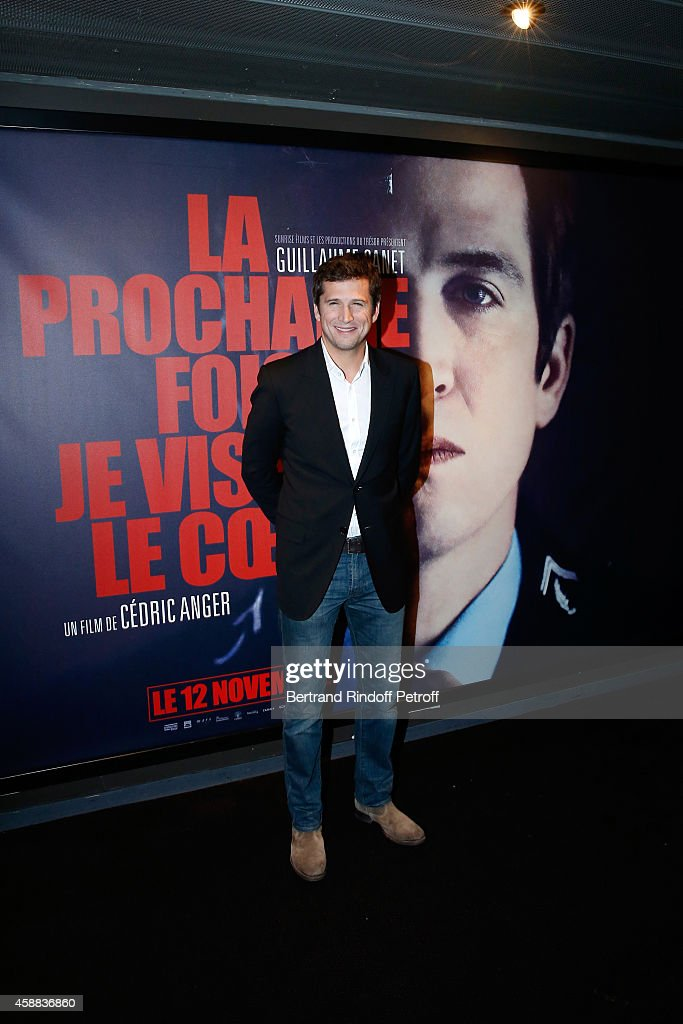 Actor of the movie Guillaume Canet attends the 'La prochaine fois, je viserai le coeur' Paris Premiere at UGC Cine Cite Bercy on November 11, 2014 in Paris, France.