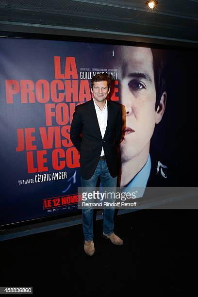 Actor of the movie Guillaume Canet attends the 'La prochaine fois je viserai le coeur' Paris Premiere at UGC Cine Cite Bercy on November 11 2014 in...