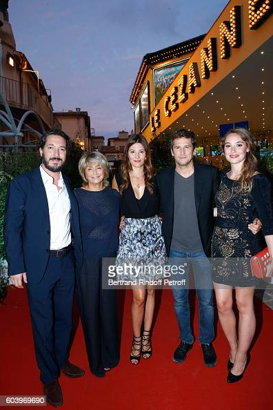 Actor of the movie Guillaume Gallienne director of the movie Daniele Thompson actors of the movie Alice Pol Guillaume Canet and Deborah Francois...