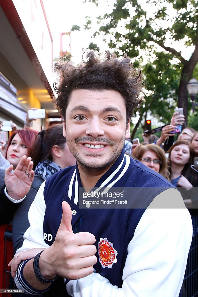 Actor of the movie <a gi-track='captionPersonalityLinkClicked' href=/galleries/search?phrase=Kev+Adams&family=editorial&specificpeople=8192242 ng-click='$event.stopPropagation()'>Kev Adams</a> attends 'Les Profs 2' : Paris Premiere at Le Grand Rex on June 9, 2015 in Paris, France.
