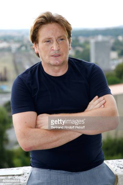 Actor of the movie 'La douleur' Benoit Magimel attends the 10th Angouleme FrenchSpeaking Film Festival Day Six on August 27 2017 in Angouleme France