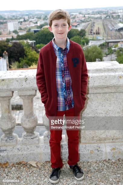 Actor of the movie 'Le petit Spirou' Sacha Pinault attends the 10th Angouleme FrenchSpeaking Film Festival Day Six on August 27 2017 in Angouleme...