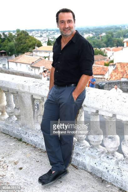 Actor of the movie 'Le sens de la fete' Gilles Lellouche attends the 10th Angouleme FrenchSpeaking Film Festival Day Five on August 26 2017 in...