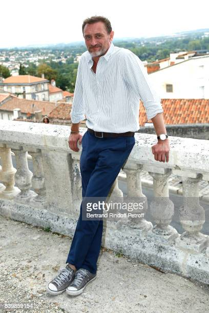 Actor of the movie 'Le sens de la fete' JeanPaul Rouve attends the 10th Angouleme FrenchSpeaking Film Festival Day Five on August 26 2017 in...
