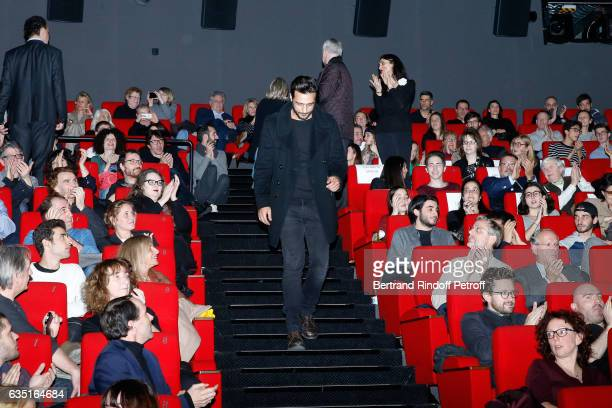 Actor of the movie Maxim Nucci attends the 'Rock'N Roll' Premiere at Cinema Pathe Beaugrenelle on February 13 2017 in Paris France
