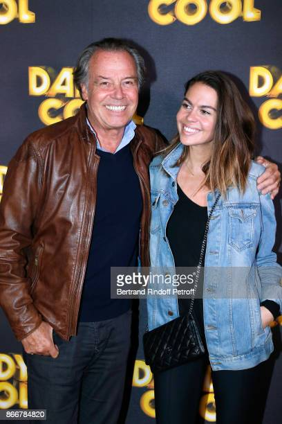 Actor of the movie Michel Leeb and his daughter Fanny attend the 'Daddy Cool' Paris Premiere at UGC Cine Cite Bercy on October 26 2017 in Paris France