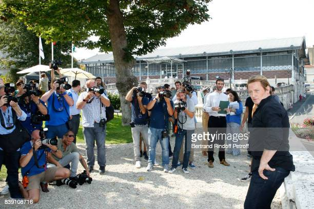 Actor of the movie 'Money' Benoit Magimel attends the 10th Angouleme FrenchSpeaking Film Festival Day Four on August 25 2017 in Angouleme France