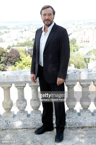 Actor of the movie 'Money' Olivier Rabourdin attends the 10th Angouleme FrenchSpeaking Film Festival Day Five on August 26 2017 in Angouleme France
