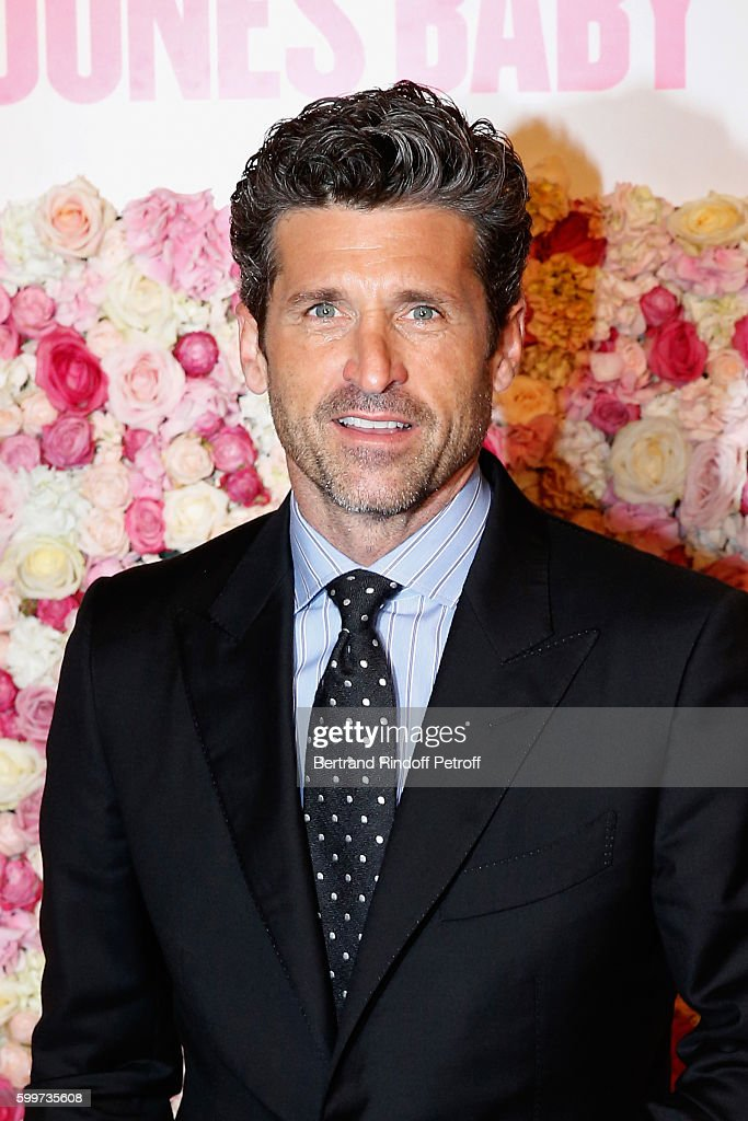 Actor of the movie Patrick Dempsey attends the 'Bridget Jones Baby' Paris Premiere. Held at Cinema Le Grand Rex on September 6, 2016 in Paris, France.