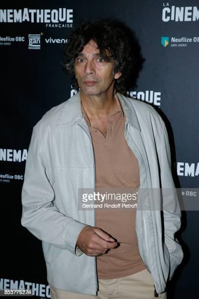 Actor of the movie Paul Blain attends the 'Un beau soleil interieur' Paris Premiere at La Cinematheque on September 25 2017 in Paris France
