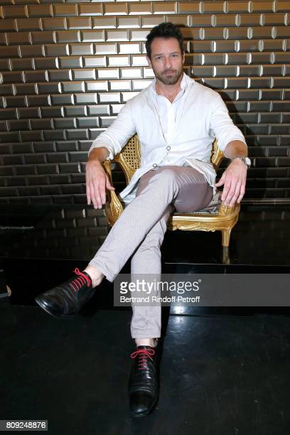 Actor of TV Series 'Teen Wolf' Ian Bohen attends the Jean Paul Gaultier Haute Couture Fall/Winter 20172018 show as part of Haute Couture Paris...