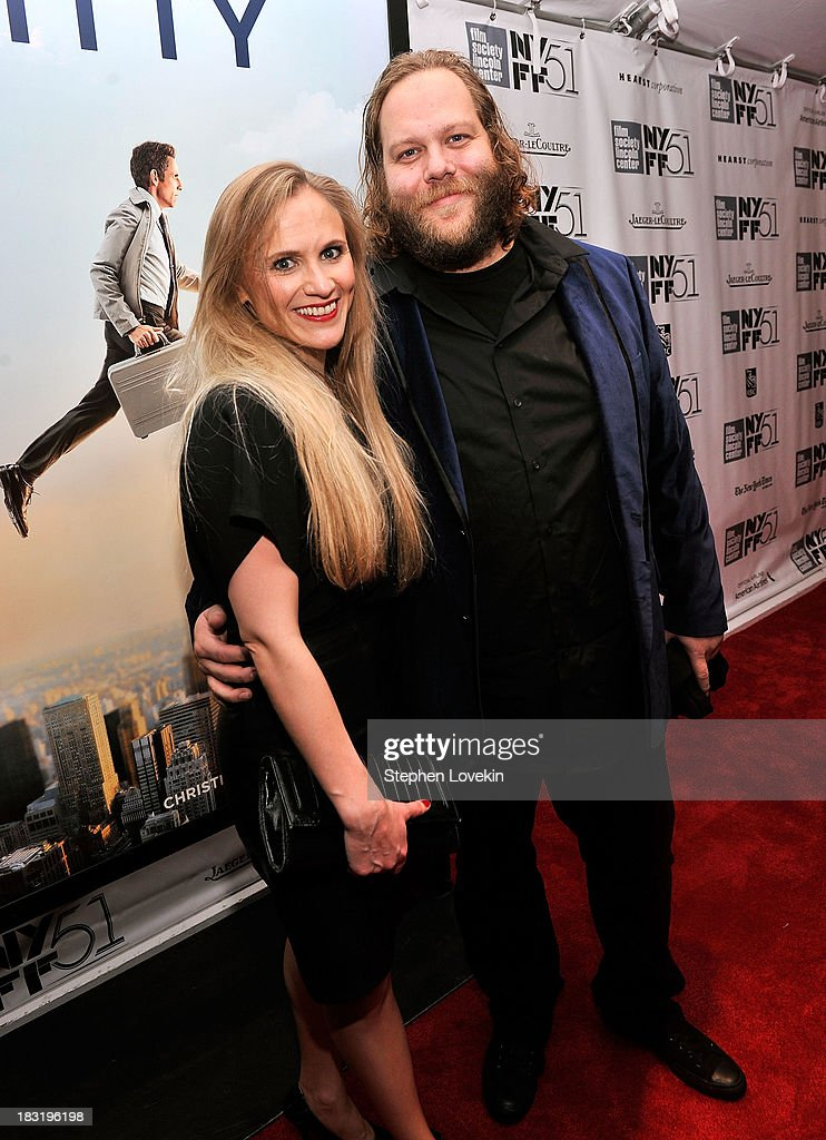 Actor Olafur Darri Olafsson (R) attends the Centerpiece Gala Presentation Of 'The Secret Life Of Walter Mitty' during the 51st New York Film Festival at Alice Tully Hall at Lincoln Center on October 5, 2013 in New York City.