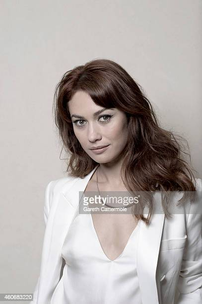 Actor Olga Kurylenko is photographed at the 11th Annual Dubai International Film festival held at the Madinat Jumeriah Complex on December 12 2014 in...