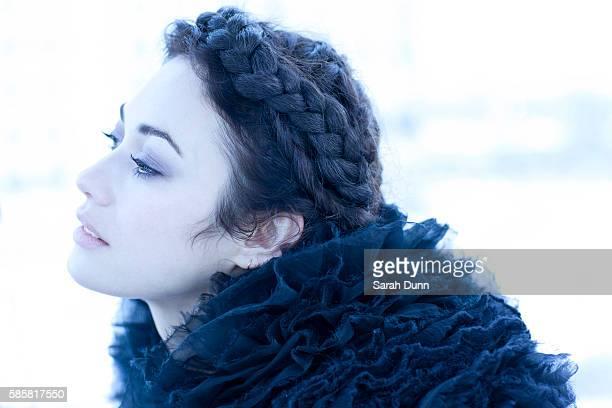 Actor Olga Kurylenko is photographed for Empire magazine on January 18 2013 in London England