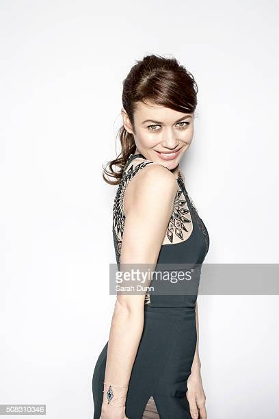 Actor Olga Kurylenko is photographed for Empire magazine on March 29 2015 in London England