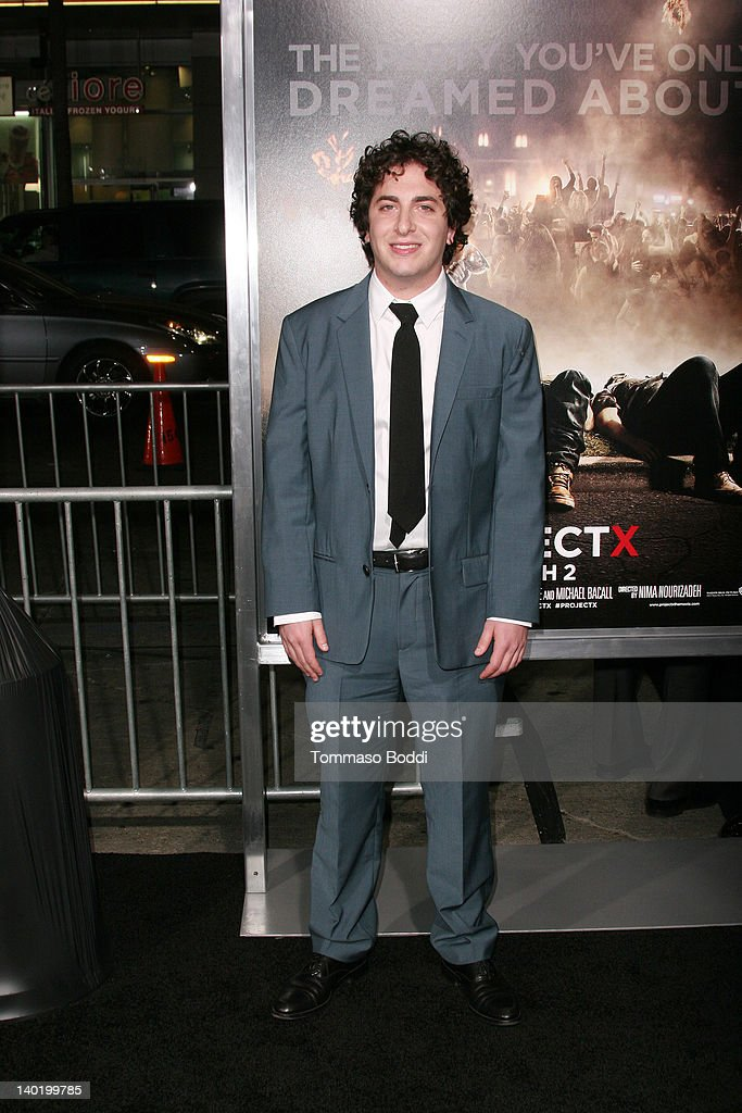Actor Oliver Cooper attends the 'Project X' Los Angeles premiere held at the Grauman's Chinese Theatre on February 29, 2012 in Hollywood, California.