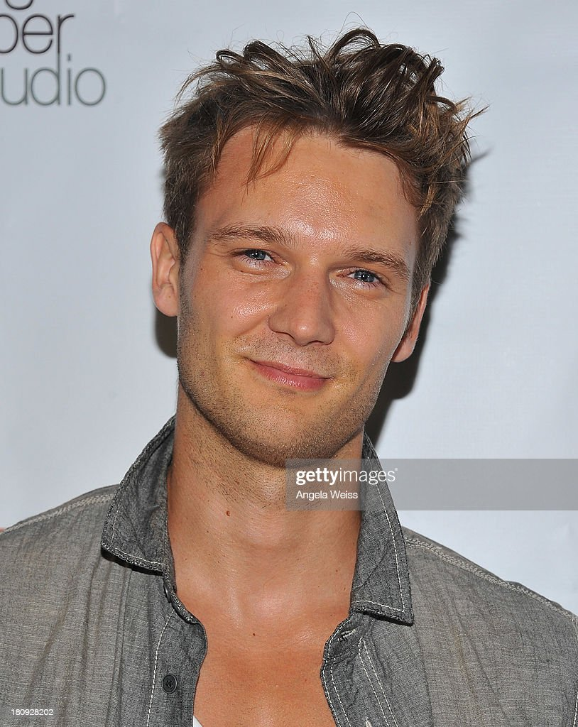 Actor Oliver Kieran-Jones arrives at Margie Haber Studio's 'Stop Acting App: The Audition Class with Margie Haber' release launch party at Aventine Hollywood on September 17, 2013 in Hollywood, California.