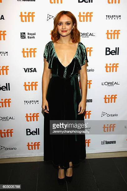 Actor Olivia Cooke attends the 'Katie Says Goodbye' premiere held at TIFF Bell Lightbox during the Toronto International Film Festival on September...