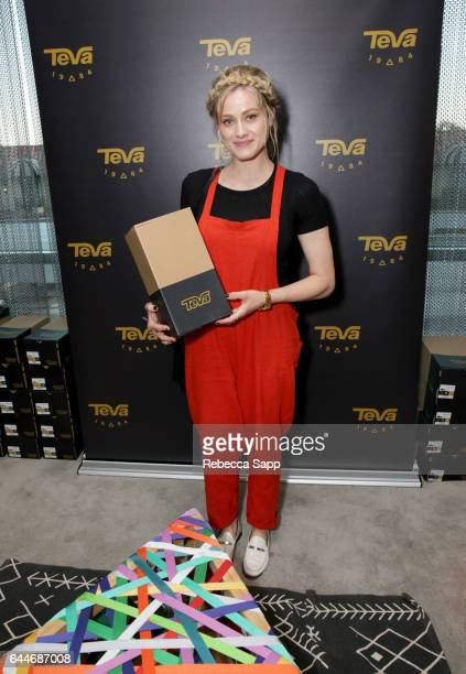 Actor Olivia Taylor Dudley attends Kari Feinstein's PreOscar Style Lounge at the Andaz Hotel on February 23 2017 in Los Angeles California