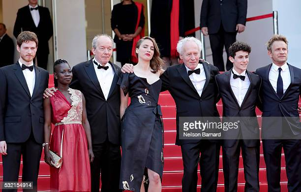 Actor Olivier Bonnaud actress Nadege Ouedraogo director Luc Dardenne actress Adele Haenel director JeanPierre Dardenne actor Louka Minnella and actor...