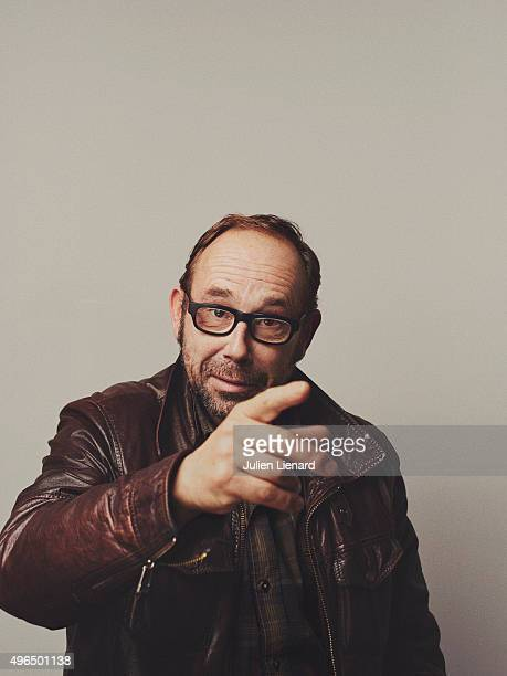 Actor Olivier Gourmet is photographed for Self Assignment on October 5 2015 in Namur Belgium