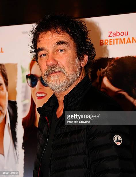 Actor Olivier Marchal attends the 'Belle Comme La Femme D'un Autre' Paris Premiere At UGC Bercy on January 20 2014 in Paris France