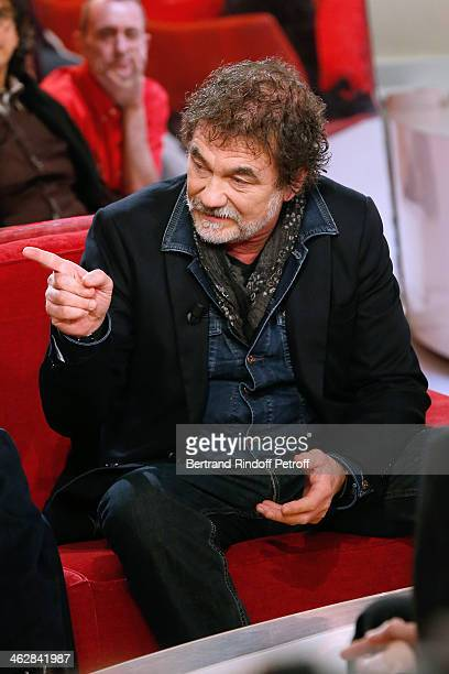 Actor Olivier Marchal here for the movie 'Belle comme la femme d'une autre' from Catherine Cassel attends 'Vivement Dimanche' French TV Show Held at...