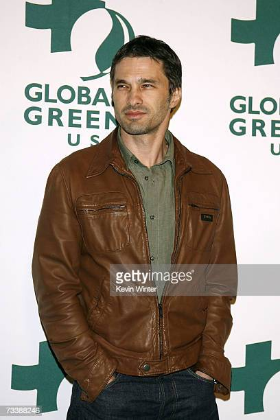 Actor Olivier Martinez arrives at the Global Green USA 3rd annual preOscar party held at the Avalon Hollywood on February 21 2007 in Hollywood...